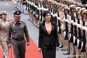 Yingluck-police