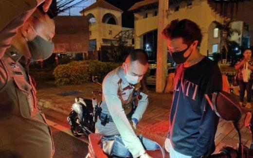 検問をタイ・パタヤで深夜検問を突破して逃走した日本人逮捕