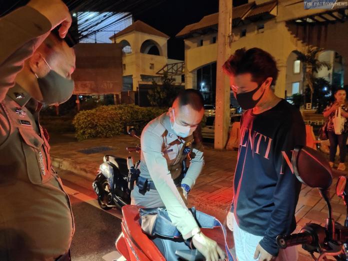 タイ・パタヤで深夜検問を突破して逃走した日本人逮捕